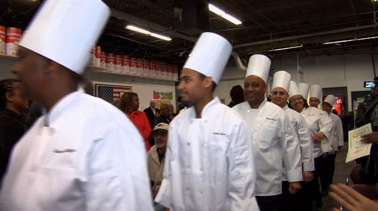 Food Service Training Academy Helps Improve Lives