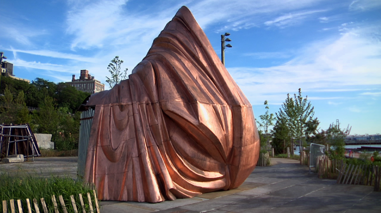 A Public Art Project Reimagines the Statue of Liberty