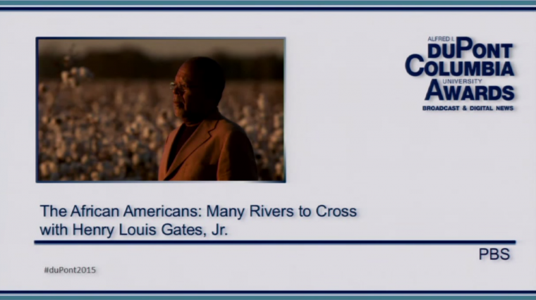 """Listening In: """"The African Americans: Many Rivers to Cross"""" Wins a duPont Award"""