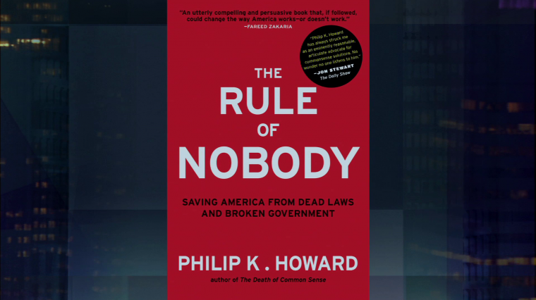 """The Rule of Nobody"" in a Nation of Laws"
