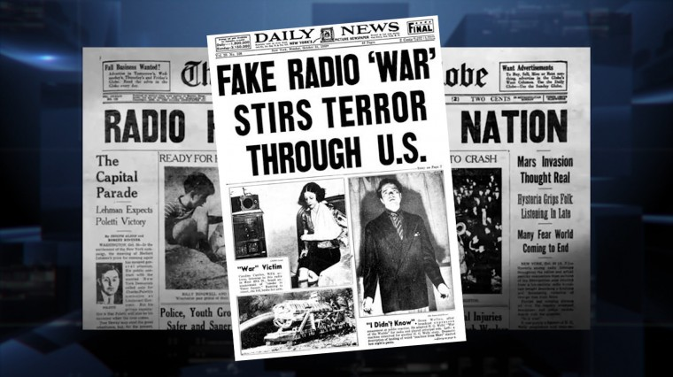 """How """"The War of the Worlds"""" Made Halloween History in 1938"""