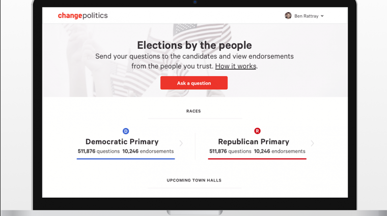 WATCH: Change.org's New Site Aims To Connect Voters With Candidates