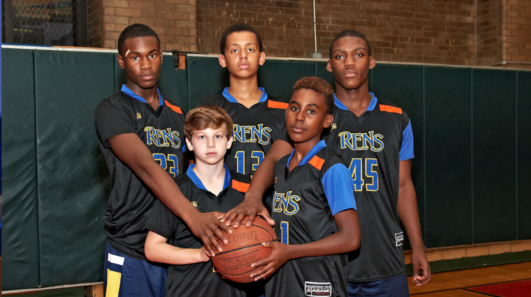 Youth Basketball Leader Fights Gun Violence With The Color Orange