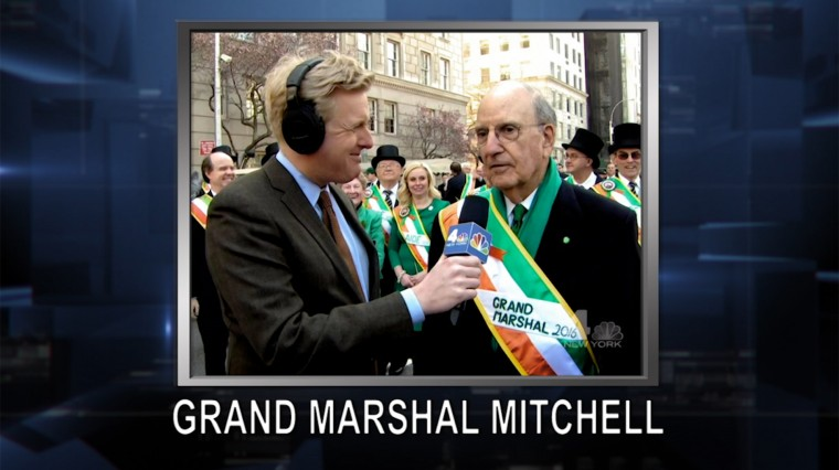 March 17, 2016: George Mitchell. Undocumented To NYPD. Easter Rebellion.