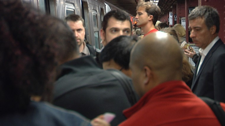 Subway Commuters, Were You Late to Work Today?