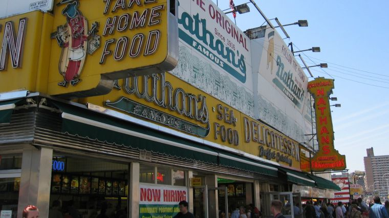 THE STORY BEHIND FAMOUS NATHAN'S HOT DOGS
