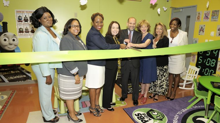 Shelter Families Welcome Kid-Friendly Space