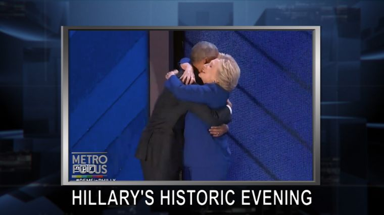 July 28, 2016: Hillary's Night at DNC. Cyber Threats. Marc Lamont Hill. Whitney Museum.