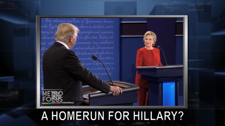 September 27, 2016: Trump v. Clinton: What's Next? A More Civil Debate? Hofstra Proud & Disappointed