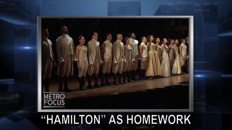 "October 20, 2016: Trump: I Will Totally Accept Election Results, If I Win. ""Hamilton"" Teaches Students. New York Treasure Teaching Tolerance."