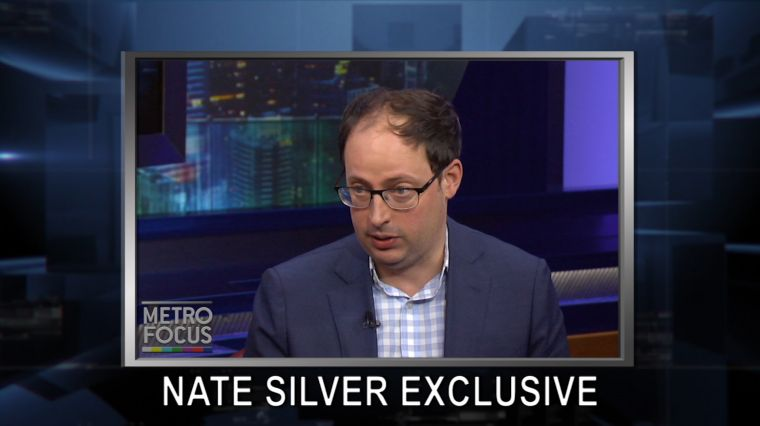 """October 28, 2016: Exclusive: Nate Silver Election Forecast. Ending Cyberbullying. Sidney Lumet: In Focus. 5 """"Don't Miss"""" Halloween Hotspots."""