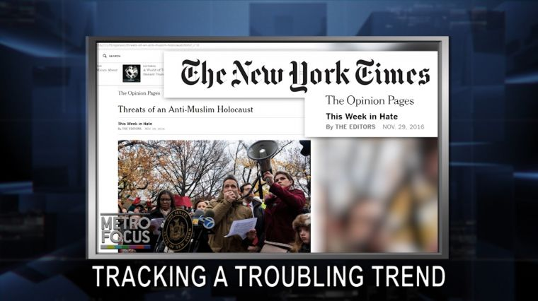 "December 1: Troubling Trends: NYT Tracks Post-Election Hate. George Mitchell and the Trump World View. EXCLUSIVE: A ""Memory"" with Betty Buckley"