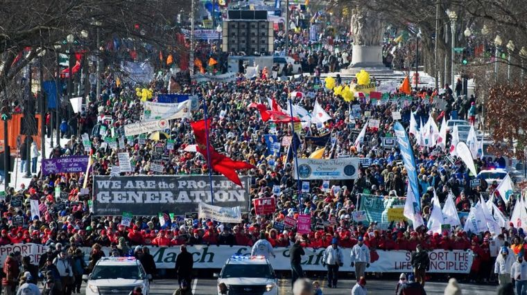 January 26, 2017: MARCHING FOR LIFE