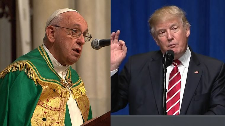 February 28, 2017: THE PRESIDENT & THE POPE