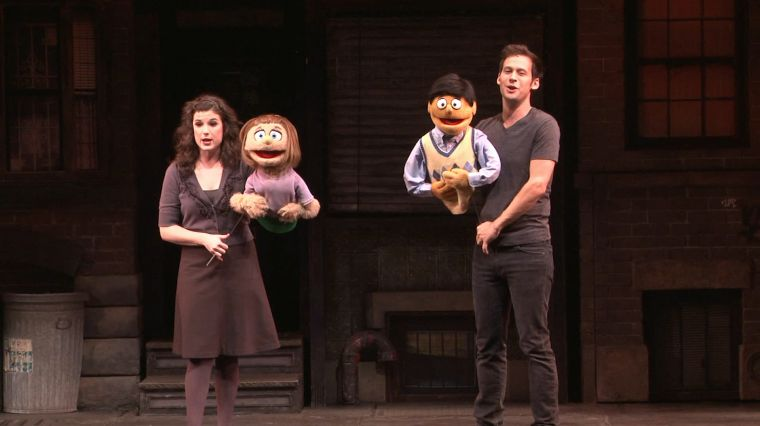 """March 8, 2017: BACKSTAGE AT """"AVENUE Q"""""""