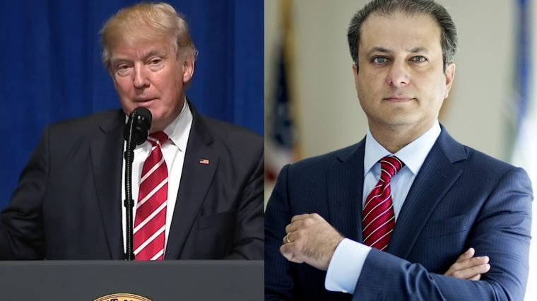 March 13, 2017: TRUMP VS. BHARARA