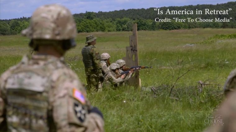"""March 31, 2017: """"IS AMERICA IN RETREAT?"""""""