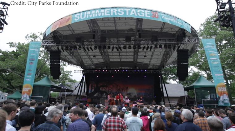 """May 16, 2017: """"SUMMERSTAGE"""""""