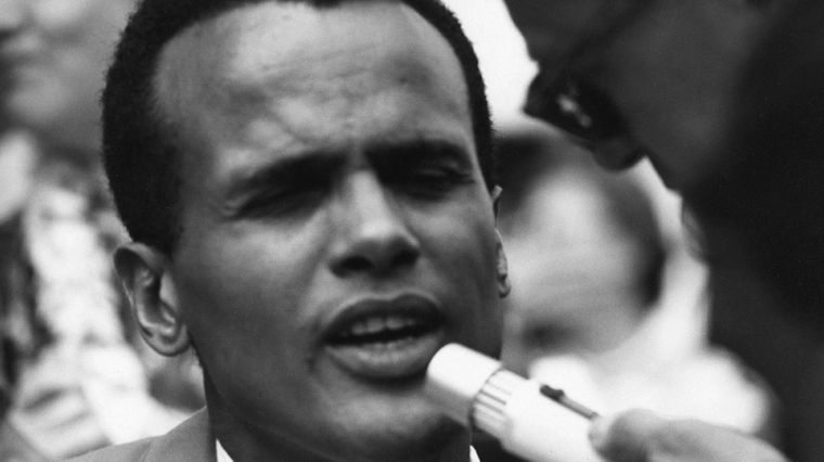 July 31, 2017: BELAFONTE HONORED