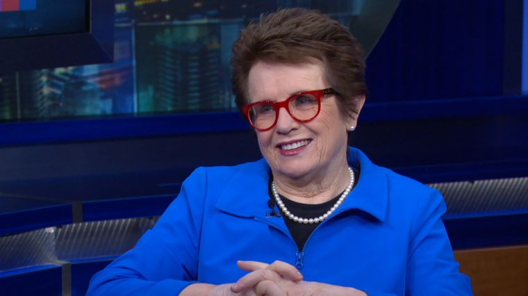 July 6, 2017: BILLIE JEAN KING