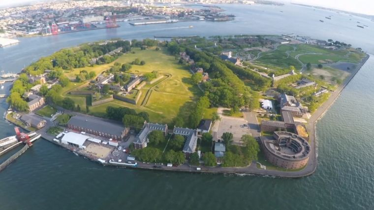 July 13, 2017: EXPLORING GOVERNORS ISLAND