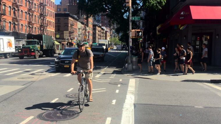 July 25, 2017: PROTECTED LANE PUSH