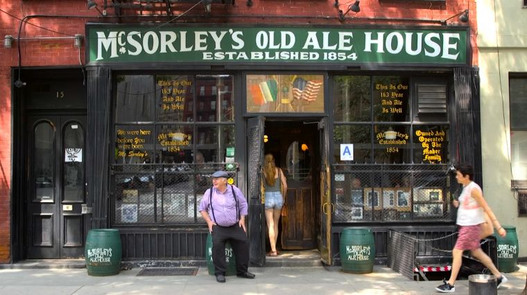 August 17, 2017: HOME IN MCSORLEY'S