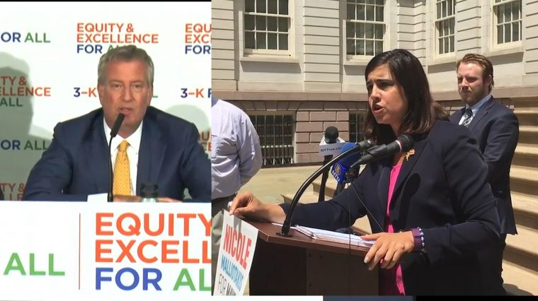 September 14, 2017: DE BLASIO  VS. MALLIOTAKIS