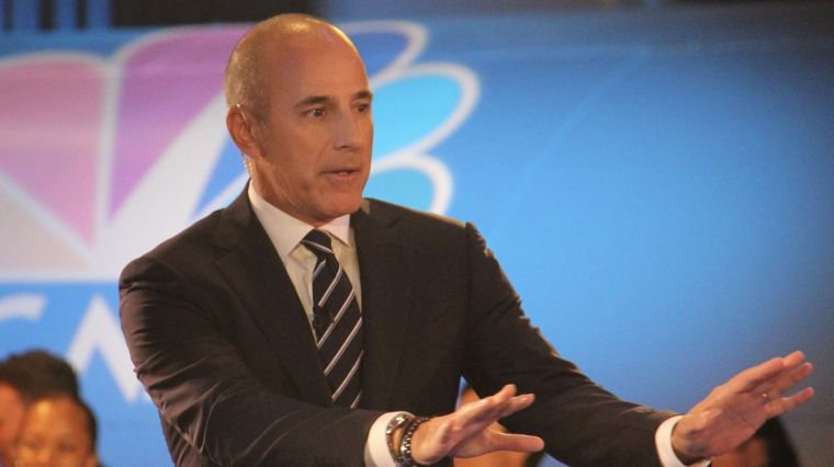 "LAUER OUT AT ""TODAY"""
