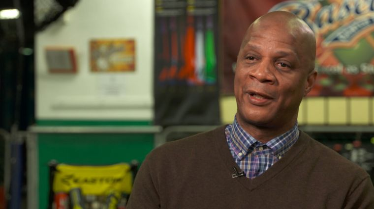 DARRYL STRAWBERRY AND DR. DAVID B. MILLER