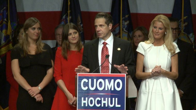 UNSEATING CUOMO