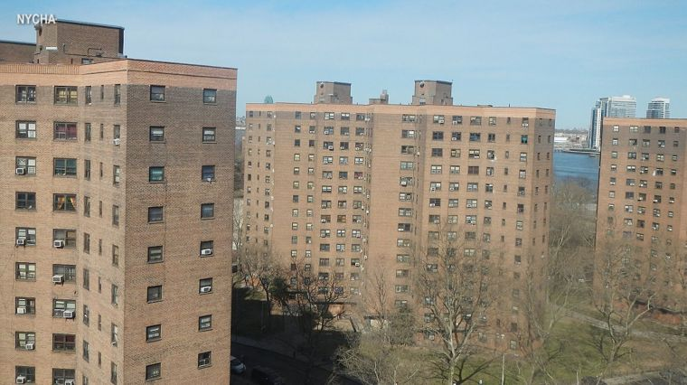 CITY'S MESSAGE TO NYCHA