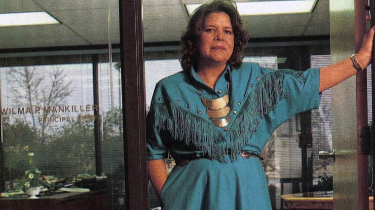 CHIEF MANKILLER