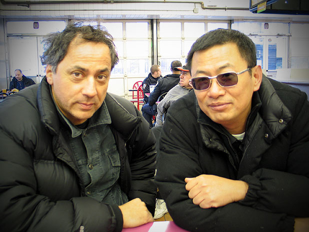 Darius Khondji (Director of Photography) & Wong Kari Wai