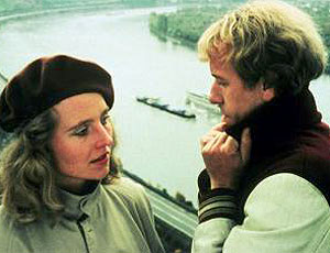 Rüdiger Vogler und Hanna Schygulla in False Movement (1975)