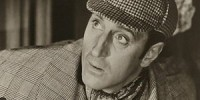 Photograph of Basil Rathbone as Sherlock Holmes