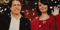 Still of Hugh Grant and Martine McCutcheon in Love, Actually