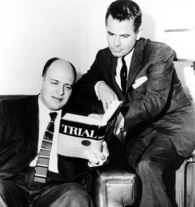 Don Mankiewicz and Glenn Ford