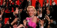 Marilyn Monroe in Howard Hawks' GENTLEMEN PREFER BLONDES (1953). Courtesy Photofest. Playing 8/6-8/12