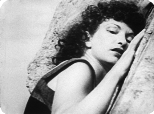 A Scene from Maya Deren's At Land.