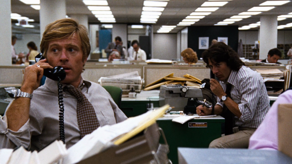Scene from All the President's Men