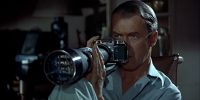 A scene from Rear Window