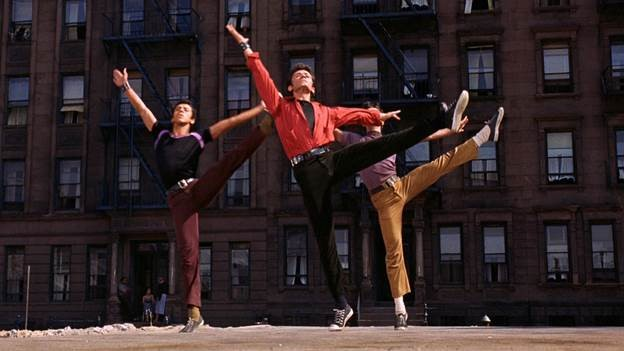 A scene from Jerome Robbins's West Side Story