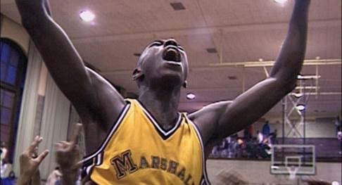 Scene from Steve James's Hoop Dreams