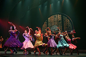Dancers in West Side Story