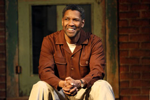 Denzel Washington as Troy Maxson in Fences