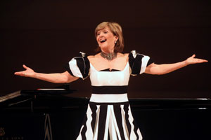 Frederica von Stade at Carnegie Hall