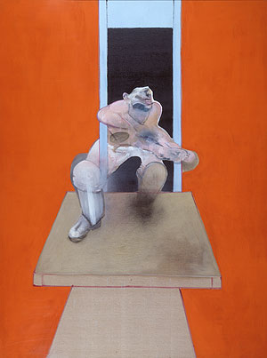 Francis Bacon - Figure In Motion