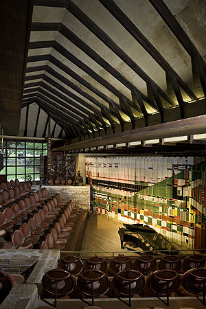 Frank Lloyd Wright's Hillside Theatre #2