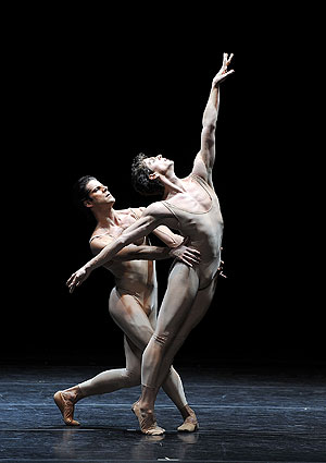 Photo of Marcelo Gomes and Guillaume Cote by Gene Schiavone